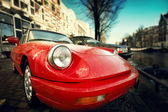 Car retro — Stock Photo