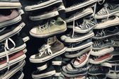 πάνινα παπούτσια — Φωτογραφία Αρχείου