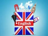 English language — Stock Photo