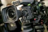 Video-Kamera für Profis — Stockfoto