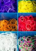 Loom rubber bands — Stock fotografie