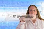 IT Webhoster — Stock Photo