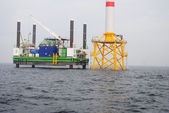 Windpark Offshore — Stock Photo