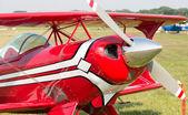 Hélice de um motor de avião — Fotografia Stock