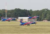 Red Bull Remote Jets Air Show — Stock Photo