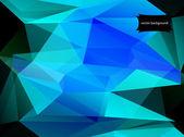 Fondo abstracto geométrico de polígonos triangulares — Vector de stock
