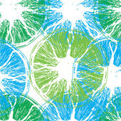 Abstract seamless oranges background — Stockvektor