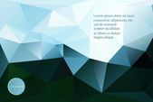 Fondo abstracto geométrico — Stockvector