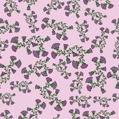 абстрактный цветочный векторный фон — Cтоковый вектор