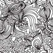 Abstract seamless floral  pattern background — Wektor stockowy