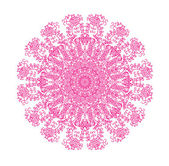Mandala isolated on white background — Stock Vector