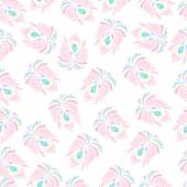 Abstract floral seamless pattern. — Stock Vector