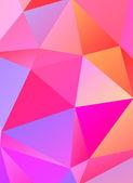 Полигональные абстрактный фон — Cтоковый вектор