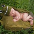 Baby Boy Wearing an Alligator Costume — Stock Photo #54574097