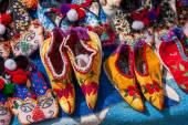 Bazi Luoping folk making lotus feet — Stock Photo