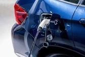 Electric car charging stations — Stock Photo