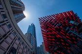Chongqing Yuzhong District Jiefangbei business district Cathay Art Center — Stock Photo
