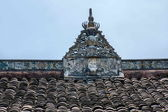 The net result HECHUAN Temple temple ridge — Stock Photo