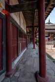 The net result HECHUAN Temple temple gallery — Stock Photo