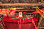 The net result HECHUAN Temple temple hall housing construction — Стоковое фото