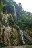 Chongqing famous scenic Black Mountain Valley Canyon — Stock Photo