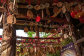Dali city, Yunnan Dragon zegen kaarten — Stockfoto