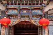 Yunnan Dali Hongshan main temple — Stockfoto