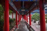 Lijiang, Yunnan Wood House gallery — Stock Photo