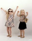 Beauty children, child's fashion — Stock Photo