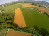 Rural aerial view — Stock Photo