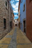 Street view in Begur — Stock Photo