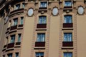 Modernist building in Barcelona — Stock Photo