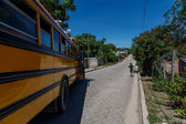 Nicaraguan public bus from Somoto — Stock Photo