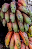 Rare red bananas — Foto de Stock