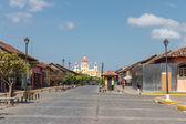 La Calzada street from Granada — Stock Photo