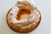 Tortell, typical catalan cake — Stock Photo