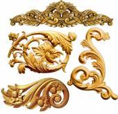 Barroco dourado — Foto Stock
