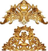 Golden baroque — Stock Photo