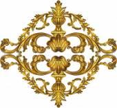 Barocco dorata — Foto Stock