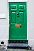 Retro look Door — Stock Photo