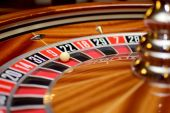 Number nine roulette — Stock Photo