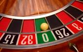 Roulette numbers — Stock Photo