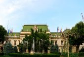 Roznovanu Palace Iasi — Stock Photo