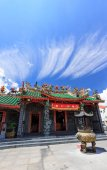 Toit de temple chinois — Photo