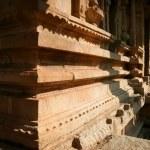Corner of ancient building in hampi india — Stock Photo #74131603
