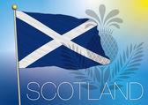 Scotland flag — Stock Vector