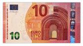 Ten euro banknote 10 — Стоковое фото
