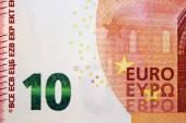 Ten euro banknote 10 — Stock Photo