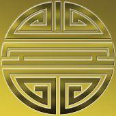 Longevity symbol, vietnam — Stock Photo