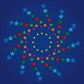 European flag symbol — Vector de stock